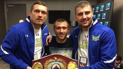 Гвоздик пожелал удачи Усику в дебютном бою в супертяжах