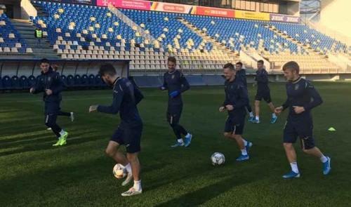 Шапаренко и Русин - в основе Украины U-21 на матч отбора Евро-2021