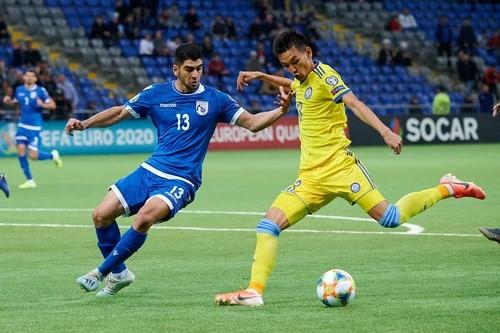 Казахстан — Кипр — 1:2. Видео голов и обзор матча