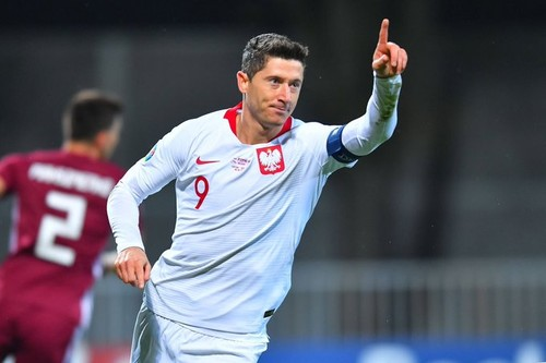 Группа G. Хет-трик Левандовски помог Польше разгромить Латвию