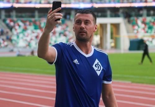 ФОТО. Милевский приехал в Харьков, чтобы поддержать сборную Украины