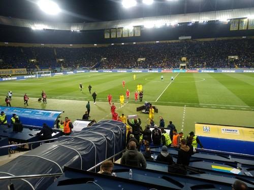Сборную Украины ждет испытание чемпионами Европы