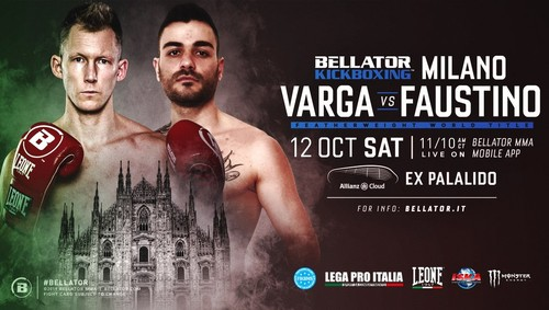 Bellator Kickboxing 12. Варга – Фаустино, Личери – Гнатчук. Анонс