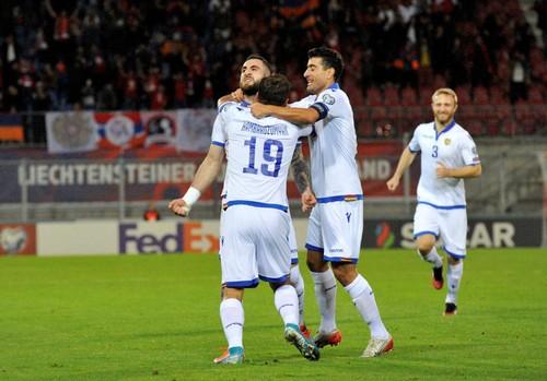 Лихтенштейн – Армения – 1:1. Видео голов и обзор матча