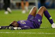 ВІДЕО. Страшна травма голкіпера Нігерії в грі проти Бразилії [18+]