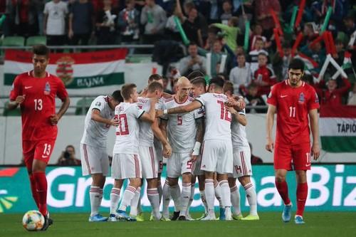 Група E. Угорщина мінімально обіграла Азербайджан