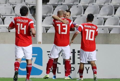 Россия победила на Кипре и завоевала путевку на Евро-2020