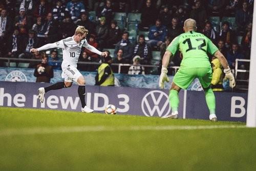Эстония – Германия – 0:3. Видео голов и обзор матча