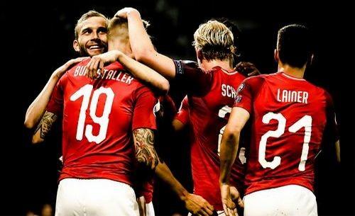 Словения – Австрия – 0:1. Видео гола и обзор матча