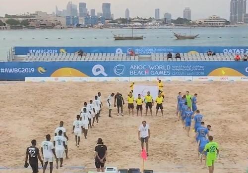 Украина проиграла и в третьем матче на Всемирных пляжных играх