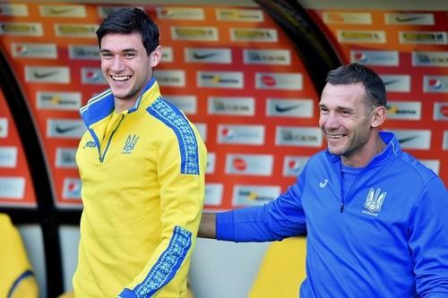 Роман Яремчук открыл счет в матче против Португалии