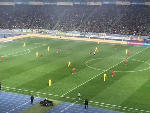 ВИДЕО ДНЯ. Как стадион праздновал победу Украины над Португалией