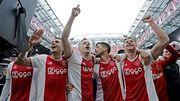 ВИДЕО. Аякс отпраздновал неофициальное чемпионство в Голландии