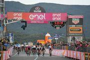 Вивиани лишили победы на этапе Джиро