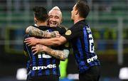 Серия A. Интер забил два безответных гола в ворота Кьево