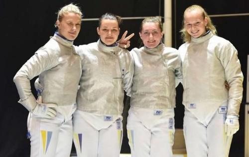 Сборная Украины завоевала серебро Кубка мира по фехтованию