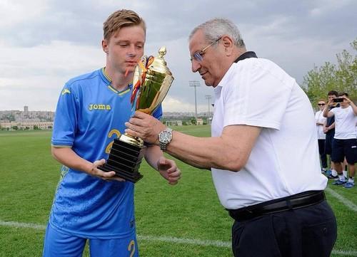Украина U-15 – Армения U-15 – 3:1. Видео голов и обзор матча