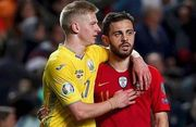 ВІДЕО. Всі дії Зінченка в матчі проти Португалії