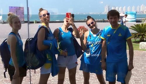 Сборные Украины 3х3 стартовали на Всемирных пляжных играх
