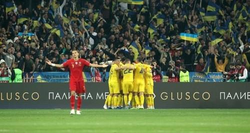 Матч Украина - Португалия посетили почти 66 тысяч зрителей