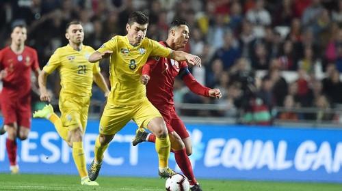 ВИДЕО. Все действия Малиновского в матче против Португалии