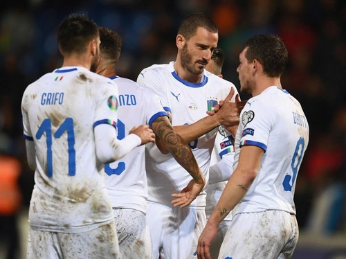 Ліхтенштейн — Італія —  0:5. Відео голів та огляд матчу