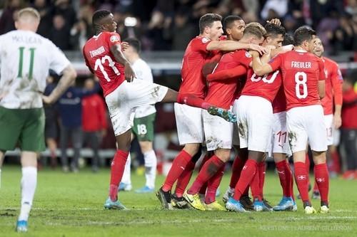 Швейцария — Ирландия — 2:0. Видео голов и обзор матча
