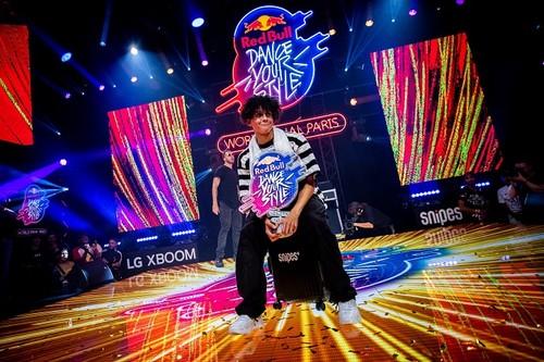 В Париже состоялся Мировой финал Red Bull Dance Your Style