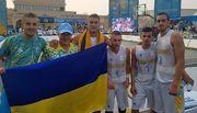 Украина заняла 4-е место в баскетболе 3х3 на Всемирных пляжных играх
