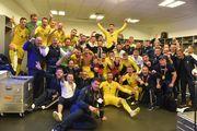 ВИДЕО. Что происходило в раздевалке сборной после игры с Португалией