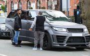 ФОТО. Агуэро пошутил по поводу разбитого Range Rover за £80 тысяч