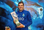 ФОТО. Касильяс получил приз лучшему вратарю сезона в Португалии
