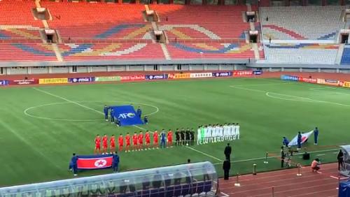 Отбор ЧМ. Сборные Южной и Северной Кореи сыграли на пустом стадионе