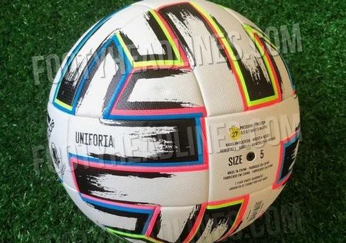 Появились первые фото официального мяча Евро-2020