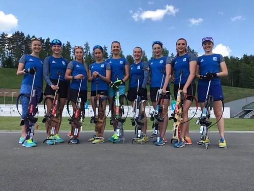 Женская сборная Украины завершила последний летний сбор