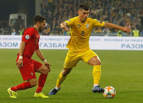 InStat: Малиновский – лучший в составе сборной Украины в отборе на ЧЕ