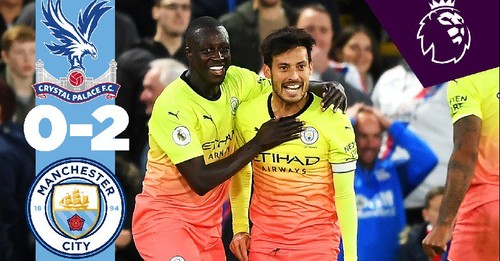 Кристал Пэлас - Манчестер Сити - 0:2. Видео голов и обзор матча