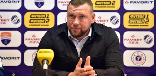 БАБИЧ: «В матче с Днепром-1 игроки оставили все силы на поле»