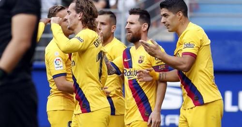 КАРИКАТУРА. В Барселоне впервые забила тройка MSG