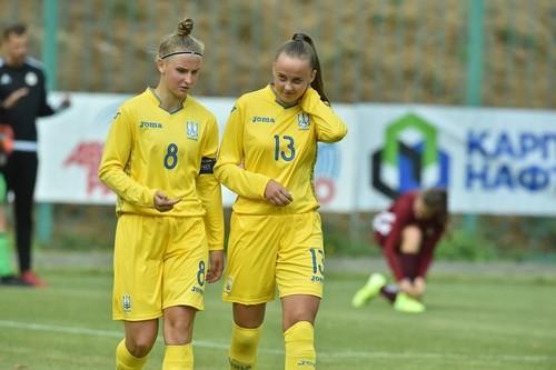 Женская сборная Украины U-17 проиграла Сербии в отборе на Евро