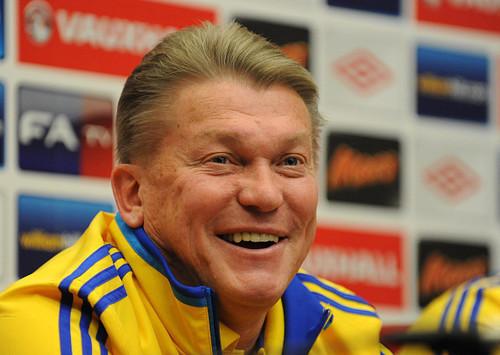 Олег БЛОХИН: «Сборная Украины может выиграть Евро»