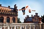ВІДЕО. Фріран-трюки Олександра Тітаренка у Чернівецькому університеті