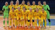 Футзал. Известен состав женской сборной Украины на матчи со Словакией