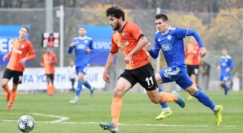 Шахтер U-19 в меньшинстве удержал ничью в матче против Динамо З