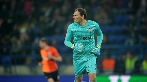 WhoScored: Пятов получил худшую оценку в составе Шахтера за матч с Динамо З