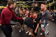 В Киеве состоялся турнир по MMA среди детей. Макгрегор поддержал участников