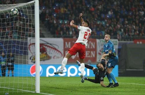 Ракицкий забил в Германии, но его Зенит проиграл РБ Лейпциг