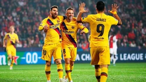 Славия – Барселона – 1:2. Видео голов и обзор матча