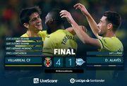 Вильярреал нанес крупное поражение Алавесу в Ла Лиге