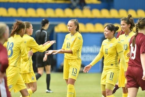 Женская сборная Украины U-17 вышла в элит-раунд отбора на Евро-2020
